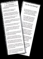 Sponsorship Bookmark