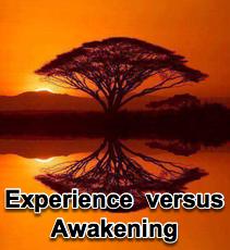 Experience vs Awakening - 4/20/16