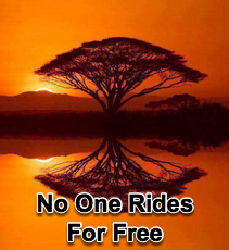 No One Rides For Free - 1/19/12
