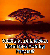 What do I do between Morning & Evening Prayers? - 9/16/09