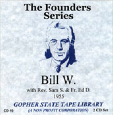 Bill W with Sam S. & Fr. Ed D.