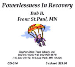 Powerlessness in Recovery