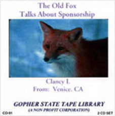 The Old Fox Talks about Sponsorship