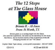 The 12 Steps at the Glass House