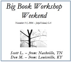 Big Book Weekend