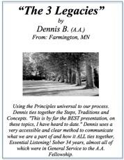 Emotional Sobriety - Dennis B.