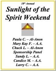Sunlight of the Spirit - 2012