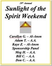 Sunlight of the Spirit - 2013