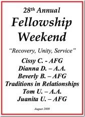 28th Al-Anon Fellowship Weekend - 2009