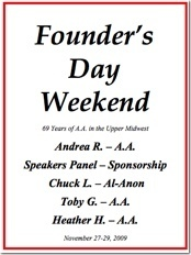 Minnesota Founders Day - 2009