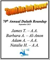 Duluth Roundup - 2015