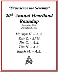 20th Heartland Roundup - 2010