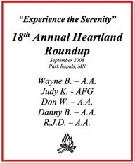 18th Heartland Roundup - 2008