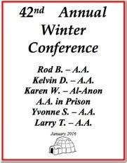 Winnipeg Winter Conference - 2016