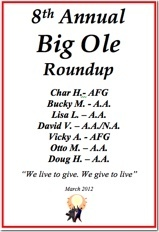 Big Ole Roundup - 2012