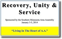 Recovery, Unity & Service Conference - 2014