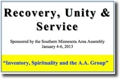 Recovery, Unity & Service Conference - 2013