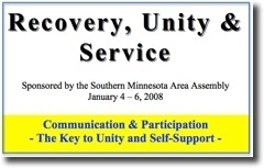 Recovery, Unity & Service Conference - 2008
