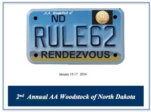 2nd Annual Rule 62 - AA Woodstock