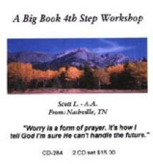 A Big Book 4th Step Workshop
