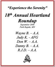 18th Heartland Roundup - 2008