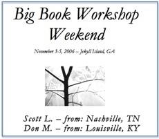 Big Book Weekend