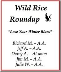 Wild Rice Roundup - 2016