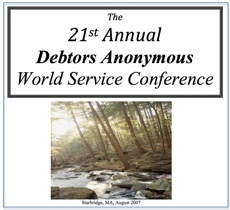 21st DA Conference - Sturbridge, MA