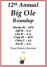 Big Ole Roundup - 2016