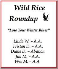 Wild Rice Roundup - 2017