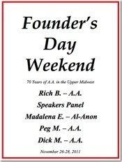 Minnesota Founders Day - 2011