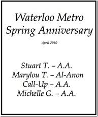 Waterloo Anniversary - 2010