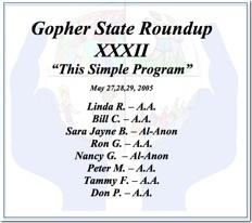 Gopher State Roundup XXXII - 2005