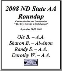 North Dakota State AA Roundup - 2008