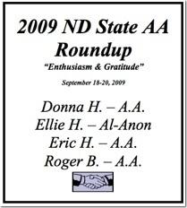 North Dakota State AA Roundup - 2009
