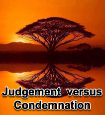 Judgement vs Condemnation - 3/16/16
