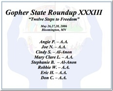 Gopher State Roundup XXXIII - 2006