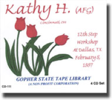 Twelve Step Workshop - Kathy H.
