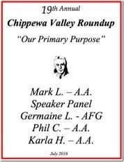 19th Chippewa Valley Roundup - 2016