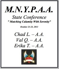 M.N.Y.P.A.A. State Conference - Minnesota 2011