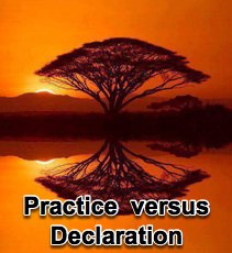 Love as a Practice versus a Declaration