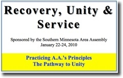 Recovery, Unity & Service Conference - 2010
