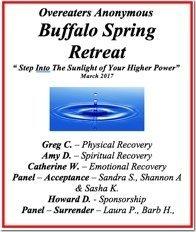 OA Buffalo Retreat - 2017