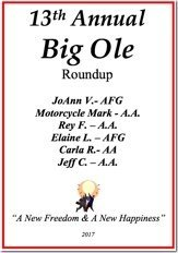 13th Annual Big Ole Roundup - 2017