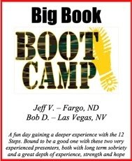 Big Book Boot Camp - 2017
