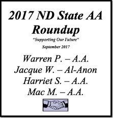 North Dakota AA Roundup - 2017