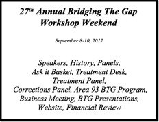 Bridge The Gap Workshop - 2017