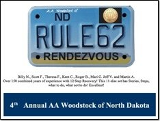 4th Annual Rule 62 - AA Woodstock
