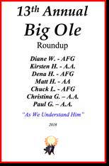 Big Ole Roundup - 2018