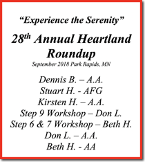 28th Heartland Roundup - 2018